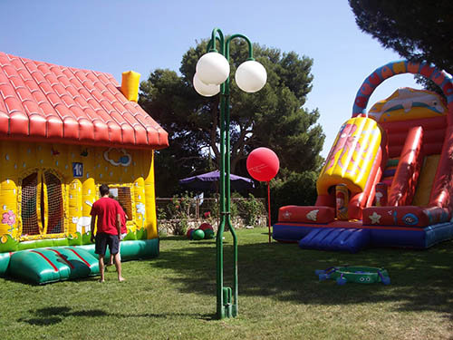 inflable festa particular